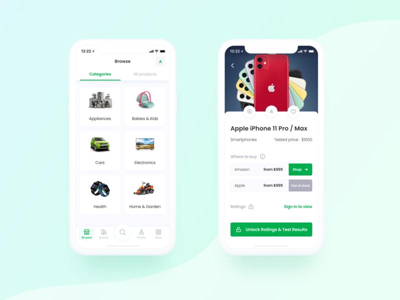 CR app concept
