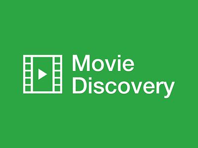Movie Discovery - Logo logo blog web design flat software development app prototype