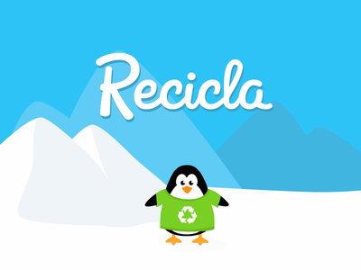 Recicla Game Prototype waste ice environment tablet prototype design child recycling app education game
