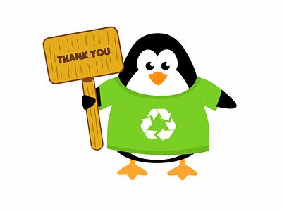 Recicla Game Prototype - Felipe (penguin) waste ice environment tablet prototype design child recycling app education game
