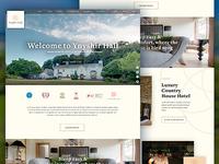 Hotel Website Redesign & Brand Update
