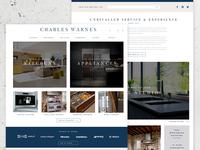 Luxury Kitchen eCommerce Website