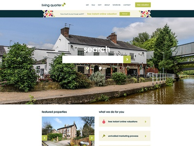 Estate Agent Website and Brand Refresh