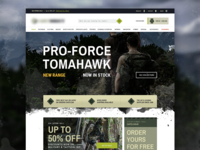 Army Surplus eCommerce