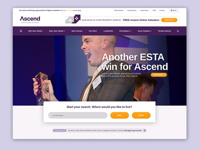 Lettings and Estate Agents Homepage