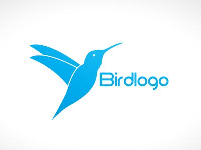 Elegant Humming Bird Logo