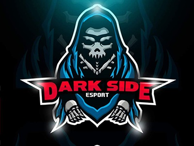 Esports logo darkside team mascot logo for sale by for Logo creation wizard
