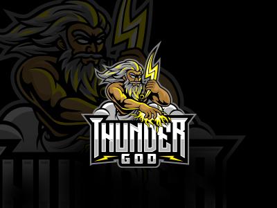 Zeus Military Mascot Logo