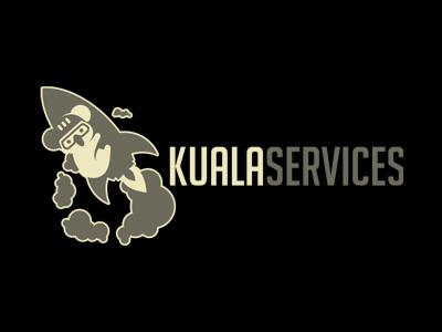 Creative Koala Logo For Sale   Koala Rocket Logo logo startup rockets rocket readymade premade koala