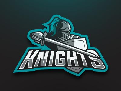 Knight eSports Logo   Knight Mascot Logo knight gaming sports esports mascot logo premade readymade armour soldier army