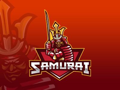 Samurai Mascot Logo Samurai Esports Logo For Sale By Lobotz Logos
