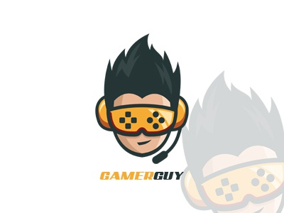 gamer guy gaming logo awesome gamer logo by lobotz logos