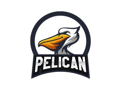 Pelican Mascot Logo For Sale Readymade Pelican eSports Logo branding esports gaming identity logo logotype mascot sports pelican