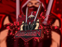Assassin eSports Logo | Assassin Mascot Logo