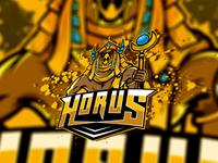 Majestic Horus Logo | Horus eSports Logo | Horus Mascot Logo