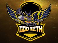 Seth God Logo | Seth eSports Logo | God Seth Mascot Logo