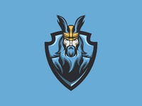 Viking Mascot Logo | Viking eSports Logo For Sale