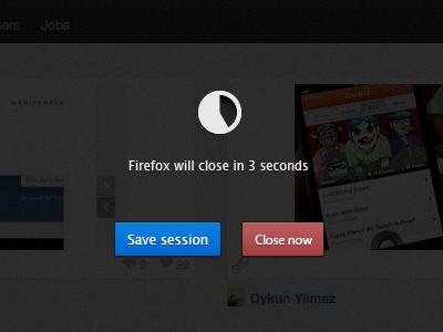 Browser save session on quit quit browser firefox poc concept session close mozilla loading buttons