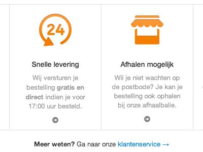 Information block information block picons orange customer service service delivery