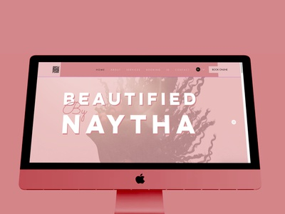 Beautified By Naytha webdesign ui design graphic design
