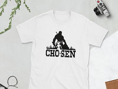 Chosen apparel shirts illustration branding art graphic design design