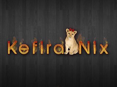Kefira Nix animals logo art graphic design design