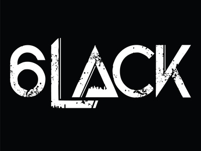 6LACK Logo artists 6lack vector logo branding art graphic design design