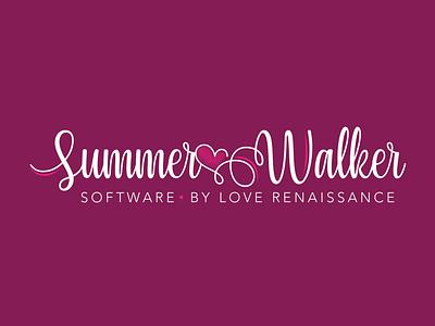 Summer Walker Logo summerwalker vector logo branding art graphic design design