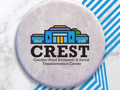 CREST Center Logo brand vector logo branding graphic design design