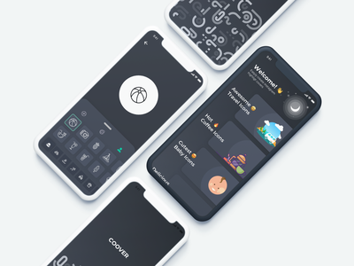Coover - Instagram Cover Icons (WIP) mobile iphone design ios app ui editor icon story instagram coover