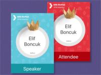 Devfest Istanbul 2016 Badges
