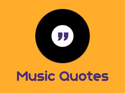 Muquotes Logo disc quotes logo music
