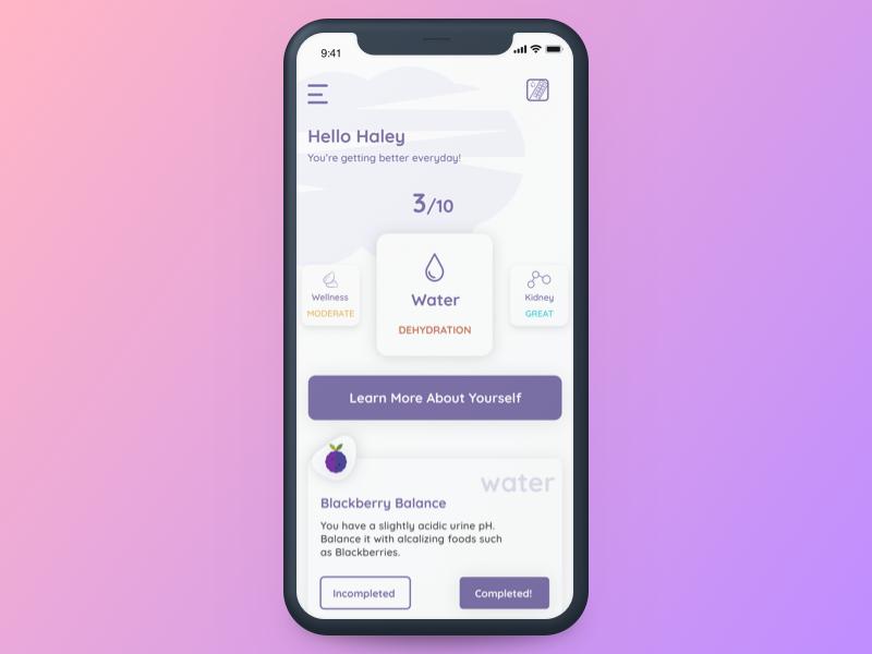 Vivoo App | Concept Design ios7 iphone mobile concept ios design app wellness vivoo concept design