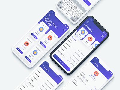 Whatsapp Status Tracker cards ui mobile ui ios illustraion app design app mobile whatsapp