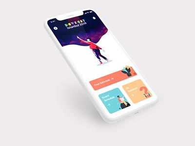 DevFest Istanbul 2019 App conference gdg devfest mobile android ios design app