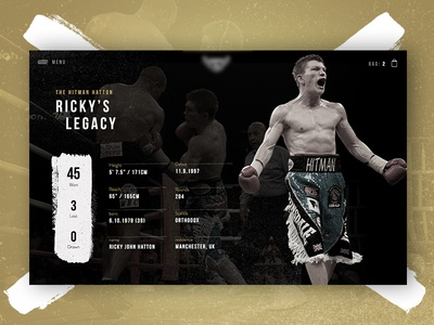 Ricky Hatton Boxing Stats statistics stats sport legacy ring fight boxing hatton ricky