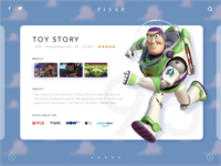 Pixar Toy Story Concept - Mixed Software