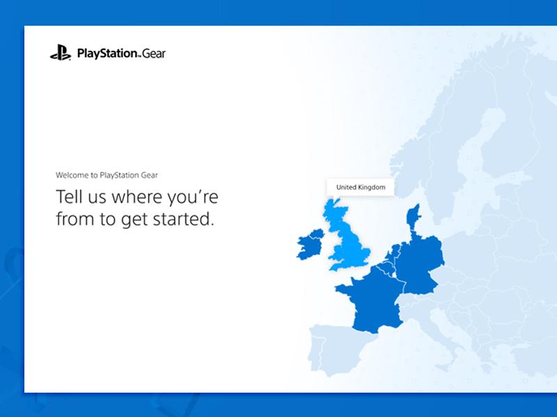 Region Select Playstation Gear by Simon Fairhurst on Dribbble