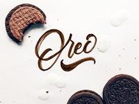 Oreo:  Lettering