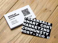 IOCats business card design