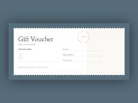 Monadh Gift Voucher Template