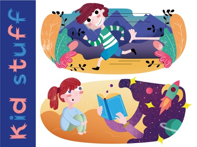 kid stuff editorial illustration book hireme illustration illustrator childrenillustration child children kid