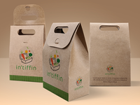 in'tiffin Logo Concept with Mockup