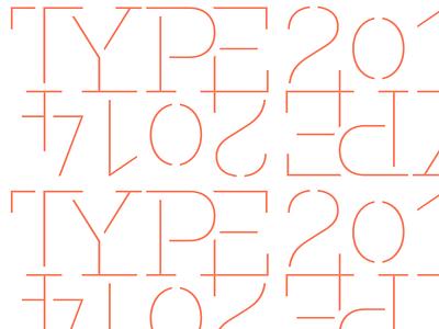 Typefaces of 2014 logo background typographica type typography orange salmon stencil pattern fakt slab stencil
