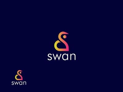 Abstract S Mark For Swan Logo Design s logo abstract brand logo symbol modern logo letter creative design startup company professional colorful logo gradient app logo logo design feminine logo swan logo agency best logo designer business