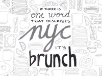 NYC Brunch