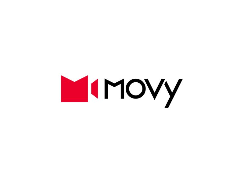 Brand identity for Movy app business logo business brand design startups startup logo startup logos logo branding