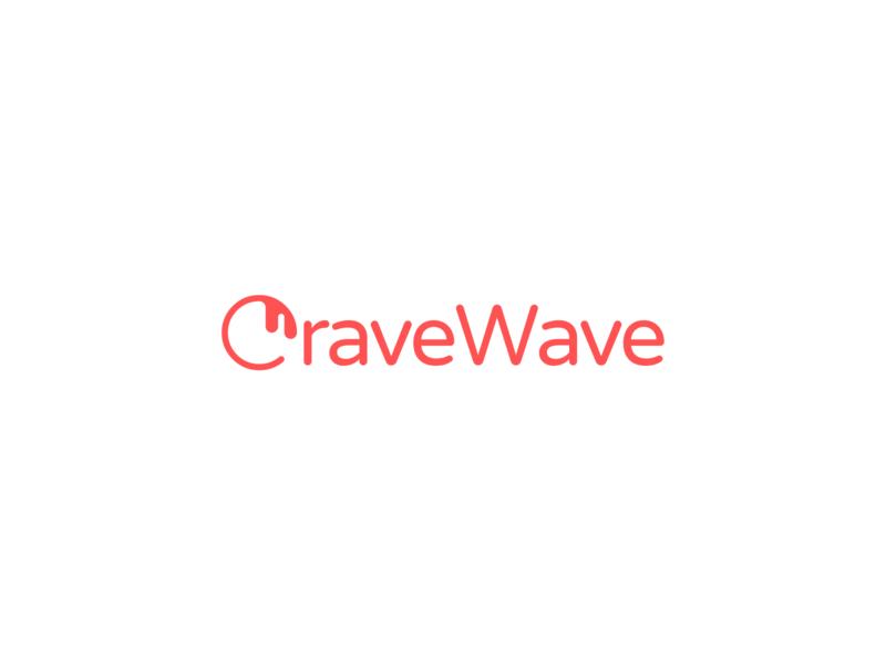 Brand identity for CraveWave design business logo business brand design startups startup logo startup logos logo branding