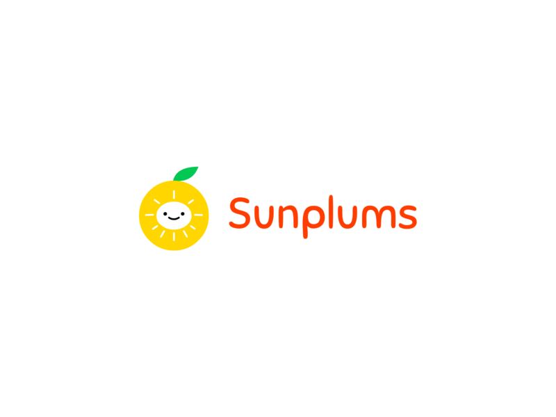 Brand identity for Sunplums design business logo business brand design startups startup logo startup logos logo branding