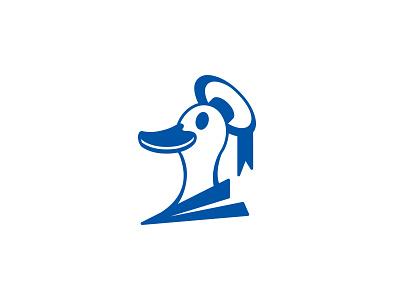 Donald Duck Logo Concept logoideas logoinspiration logodaily logo logoconcept disney nationalday donaldduckday donaldduck logoconceptday